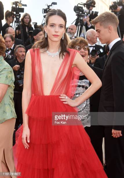 Stacy Martin attends the closing ceremony screening of The Specials during the 72nd annual Cannes Film Festival on May 25 2019 in Cannes France