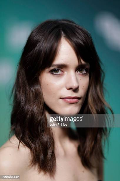 Stacy Martin attends the Create Gala UK Premiere of 'Redoubtable' during the 61st BFI London Film Festival on October 7 2017 in London England