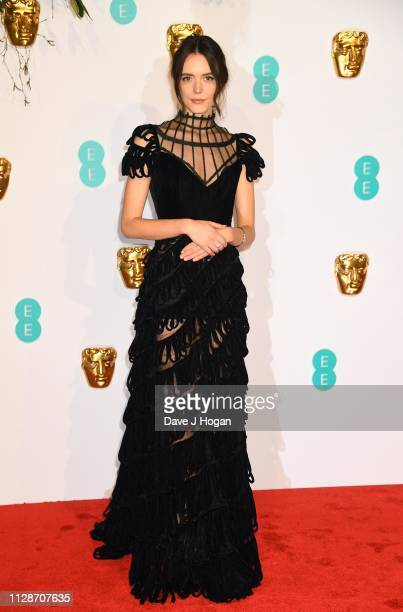 Stacy Martin attends the EE British Academy Film Awards at Royal Albert Hall on February 10 2019 in London England