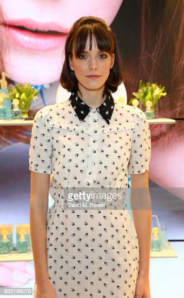 Stacy Martin attends the MIU MIU Fragrance Launch on January 31 2017 in London England