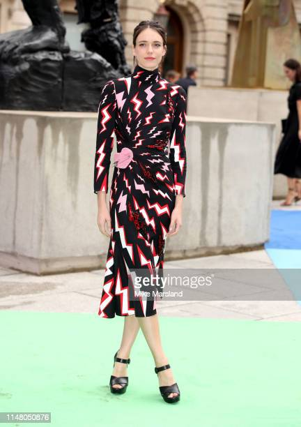 Stacy Martin attends the Royal Academy of Arts Summer exhibition preview at Royal Academy of Arts on June 4, 2019 in London, England.