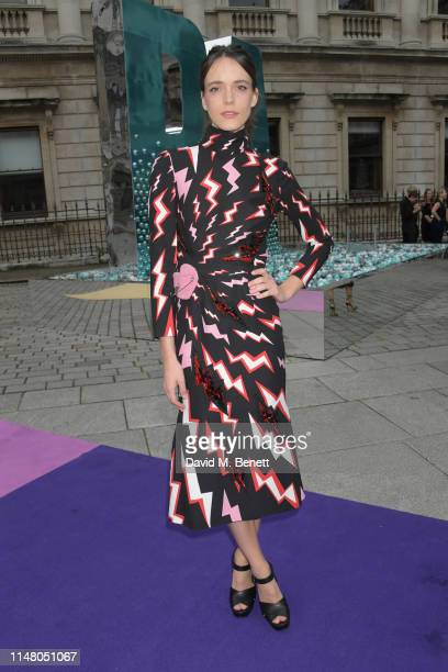 Stacy Martin attends The Royal Academy Of Arts Summer Exhibition preview party on June 4, 2019 in London, England.