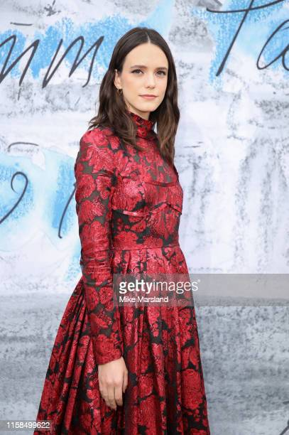 Stacy Martin attends The Summer Party 2019 Presented By Serpentine Galleries And Chanel at The Serpentine Gallery on June 25 2019 in London England