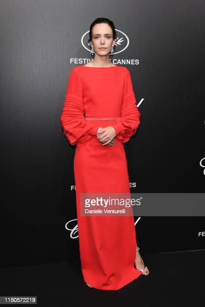 Stacy Martin attends the The Chopard Trophy event during the 72nd annual Cannes Film Festival on May 20 2019 in Cannes France