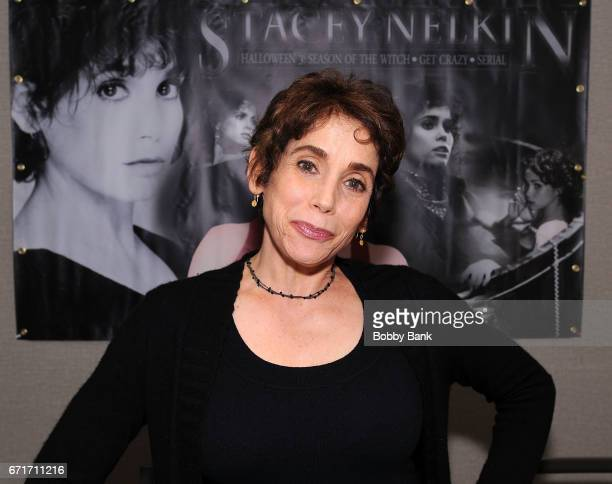 Stacy Nelkin attends Chiller Theatre Expo Spring 2017 at Hilton Parsippany on April 22 2017 in Parsippany New Jersey