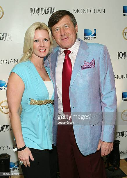 Stacy Sager and Craig Sager attend the TNT and Los Angeles Confidential AllStar Weekend VIP Party Presented By DirecTV held at Mondrian Los Angeles...