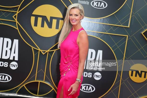 Stacy Sager attends 2019 NBA Awards at Barker Hangar on June 24 2019 in Santa Monica California