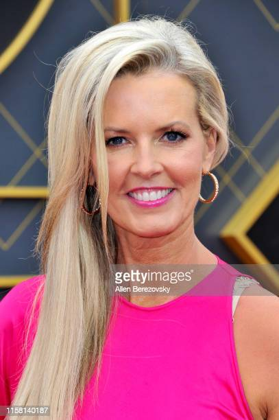 Stacy Sager attends the 2019 NBA Awards at Barker Hangar on June 24 2019 in Santa Monica California