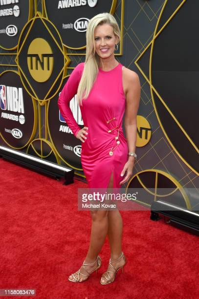 Stacy Sager attends the 2019 NBA Awards presented by Kia on TNT at Barker Hangar on June 24 2019 in Santa Monica California