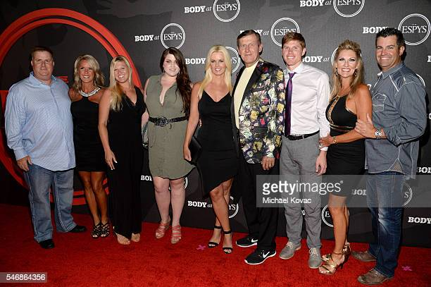 Stacy Sager Sports reporter Craig Sager and guests at the BODY at ESPYS Event on July 12th at Avalon Hollywood