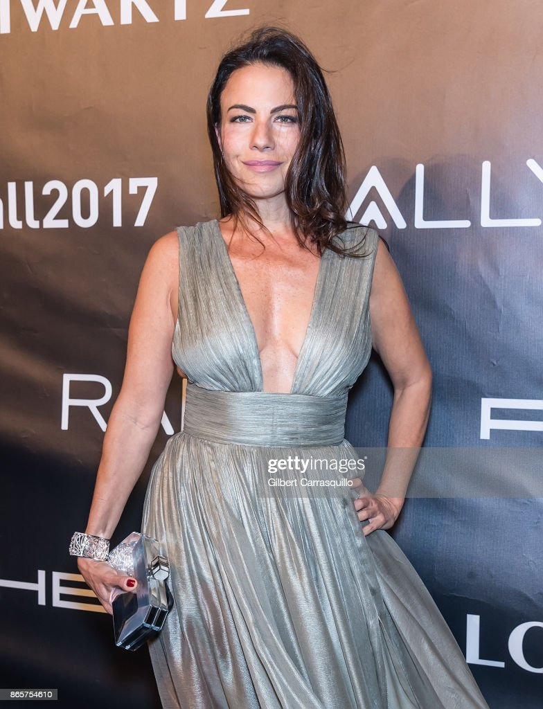 Stacy Silverstein arrives at Gabrielle's Angel Foundation's Angel Ball 2017 at Cipriani Wall Street on October 23, 2017 in New York City.