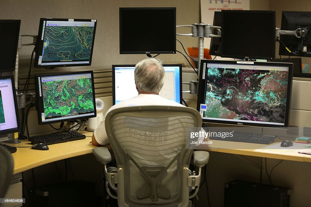 National Hurricane Center Monitors First Named Atlantic Hurricane Of Year, Danny : News Photo