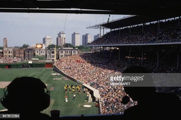 Stade de football à Chicago dans le Michigan EtatsUnis