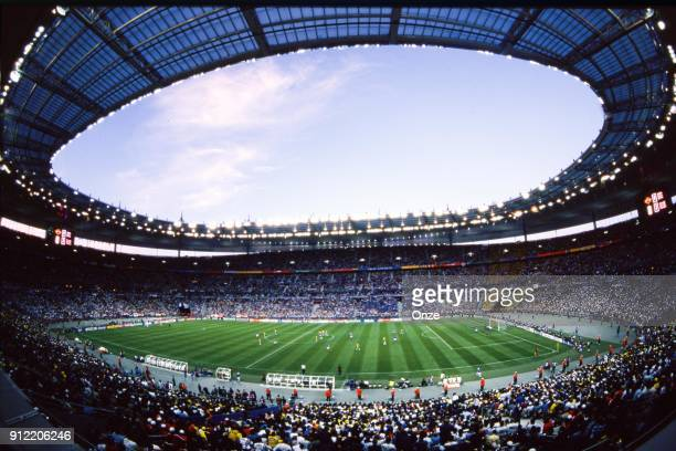 Stade de France during the Soccer World Cup Final between Brazil and France on July 12 1998 in Paris Saint Denis France Christian Gavelle / Onze /...