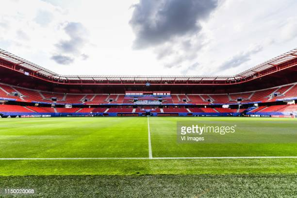 stade Hainaut Valenciennes during a training session prior to the FIFA Women's World Cup France 2019 group E match between The Netherlands and...