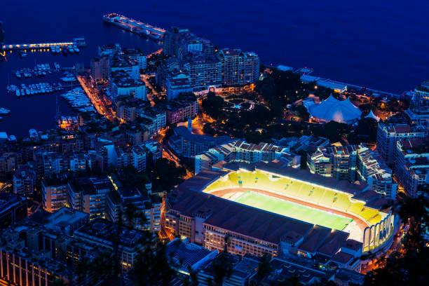 Stade Louis ll in Monaco