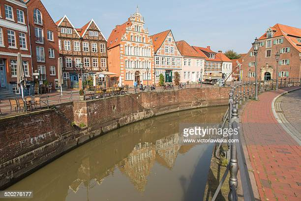 stade, lower saxony, germany - stade germany stock pictures, royalty-free photos & images