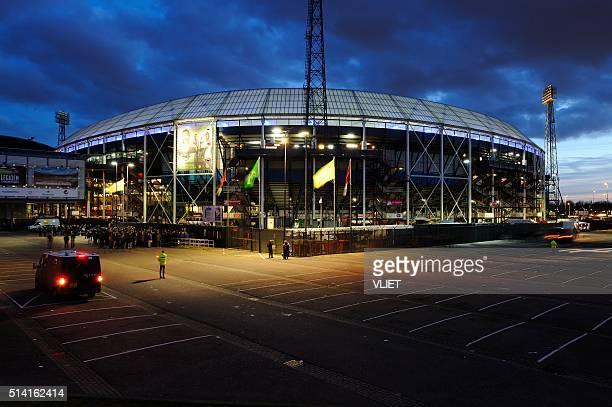 Stadion Feijenoord in Rotterdam