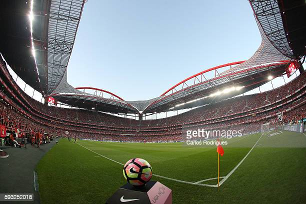 Stadium da Luz view during the match between SL Benfica and Vitoria Setubal FC for the Portuguese Primeira Liga at Estadio da Luz on August 21 2016...