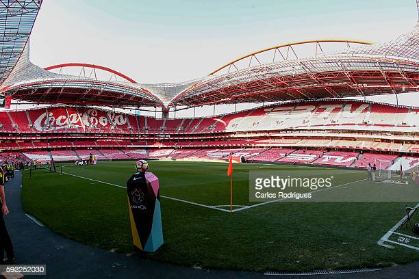Stadium da Luz view during the match between SL Benfica and Vitoria Setubal FC for the Portuguese Primeira Liga at Estadio da Luz on August 21 2016...