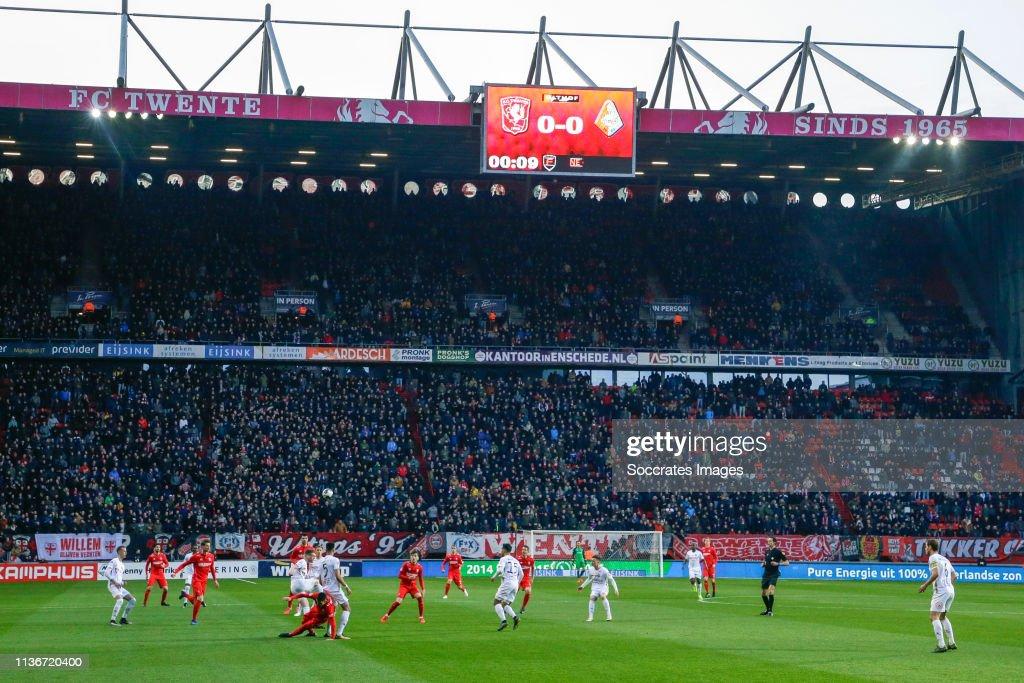 Fc Twente v Telstar - Dutch Keuken Kampioen Divisie : ニュース写真