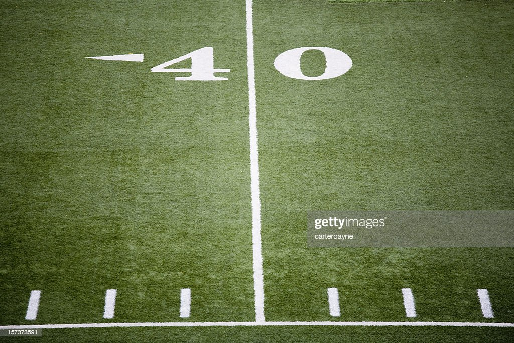 Stadium football field : Stock Photo