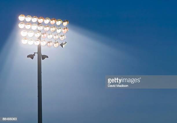 Stadium lights.