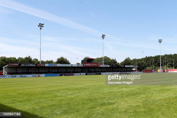 Stadium of Almere City during the Photocall Almere City at the Yanmar Stadium on July 16 2018 in Almere Netherlands