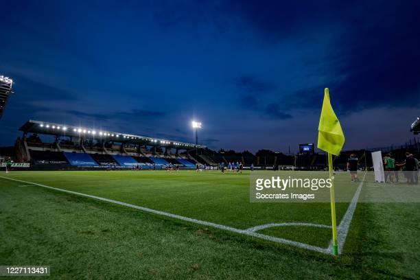 stadium of Atalanta Bergamo during the Italian Serie A match between Atalanta Bergamo v Brescia at the Stadio Atleti Azzurri d Italia on July 14 2020...