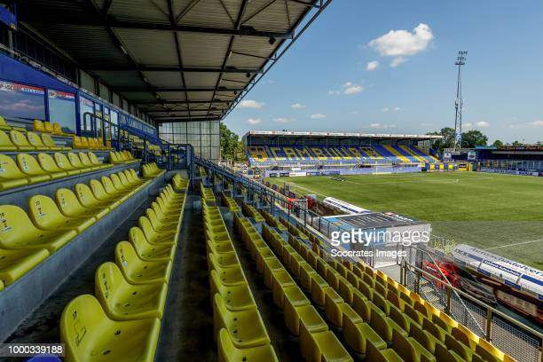stadium of Cambuur Leeuwarden during the Photocall SC Cambuur at the Cambuur Stadium on July 16 2018 in Leeuwarden Netherlands