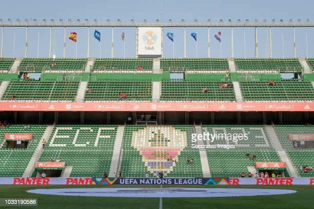 stadium of Elche during the UEFA Nations league match between Spain v Croatia at the Estadio Manuel Martínez Valero on September 11 2018 in Elche...