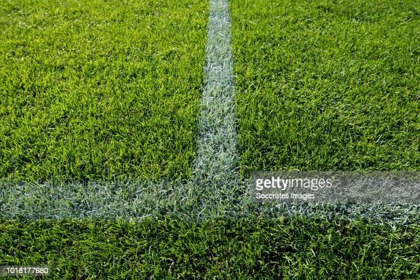 stadium of FC Dordrecht during the Dutch Keuken Kampioen Divisie match between FC Dordrecht v Helmond Sport at the Riwal Hoogwerkers Stadium on...