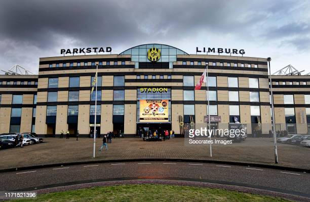 Stadium of Roda JC during the Dutch Keuken Kampioen Divisie match between Roda JC v De Graafschap at the Parkstad Limburg Stadium on September 27,...