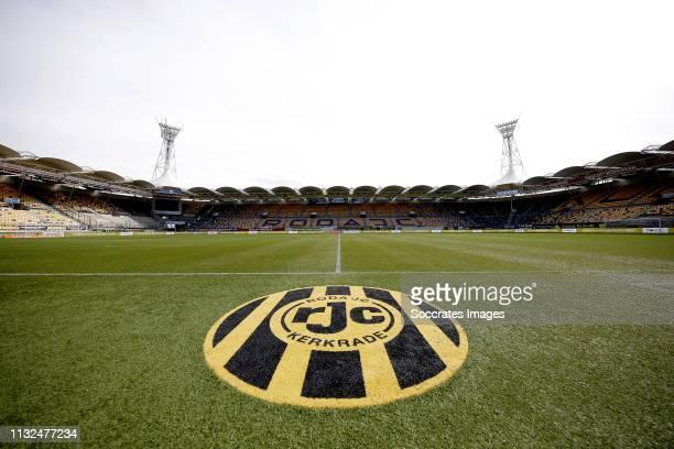Stadium of Roda JC Kerkrade during the Dutch Keuken Kampioen Divisie match between Roda JC v MVV Maastricht at the Parkstad Limburg Stadium on March...