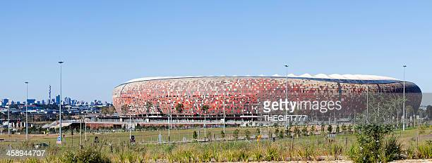 fnb stadium or soccer city - soweto stock pictures, royalty-free photos & images