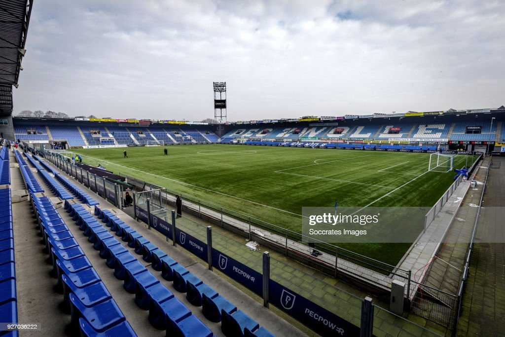 Stadium Pec Zwolle During The Dutch Eredivisie Match Between Pec News Photo Getty Images