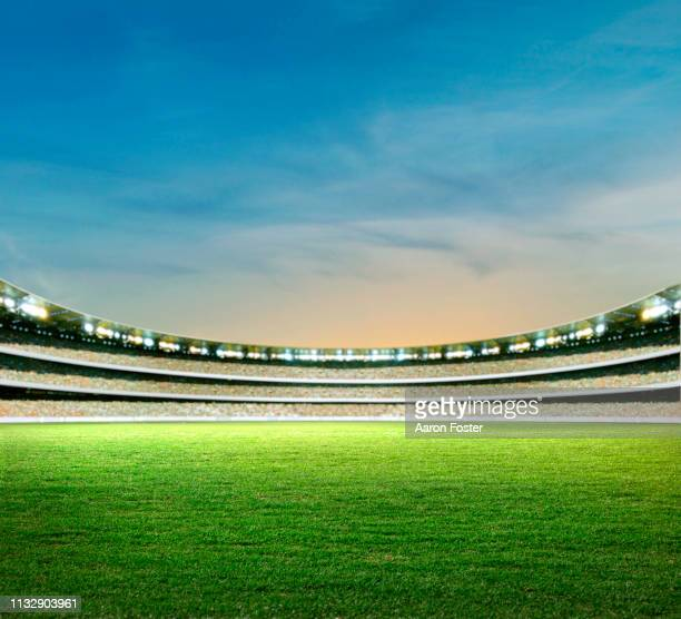 stadium - afl stock pictures, royalty-free photos & images