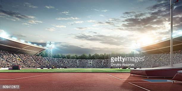 . stadium - athletics stock photos and pictures