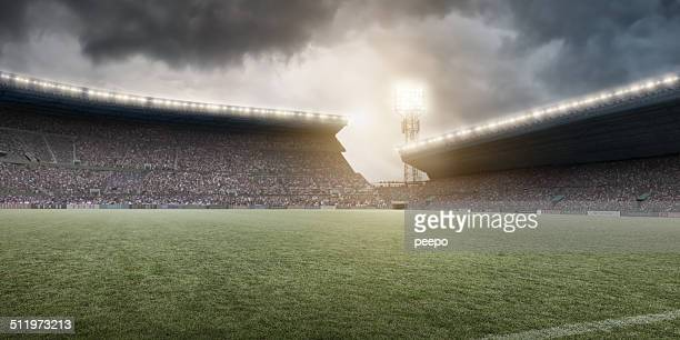 stadium - football field stock pictures, royalty-free photos & images