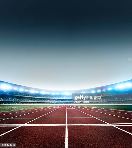 stadium - running track stock pictures, royalty-free photos & images