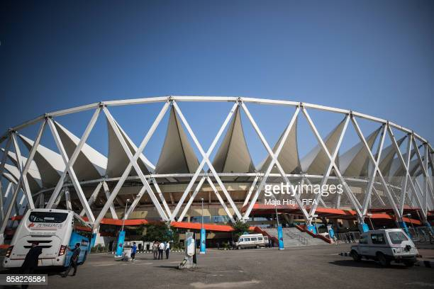 Stadium prior the FIFA U17 World Cup India 2017 group A match between Colombia and Ghana at Jawaharlal Nehru Stadium on October 6 2017 in New Delhi...