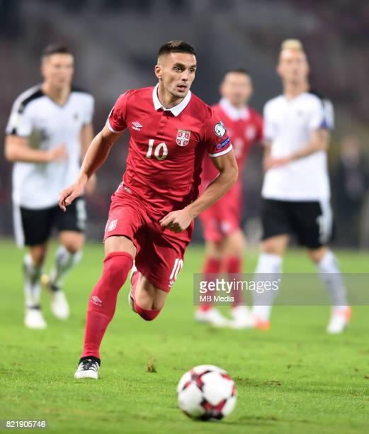 BELGRADE 9 Oct 2016 Dusan Tadic Serbia vs Austria WC 2018 European Qualifying round Group D Matchday 3 Stadium 'Rajko Mitic' Belgrade Foto Nenad...