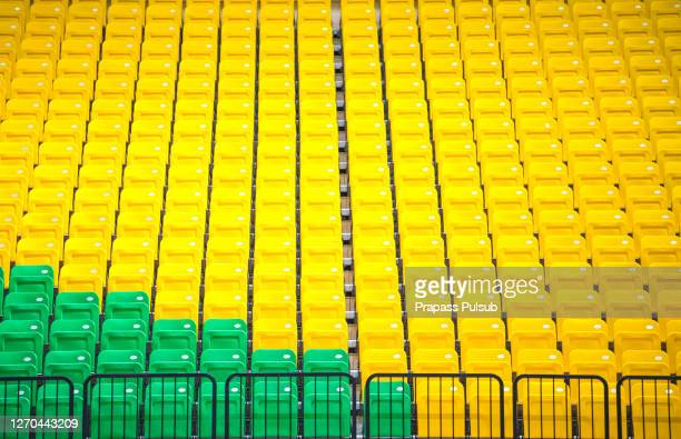 stadium seat - sports venue stock pictures, royalty-free photos & images
