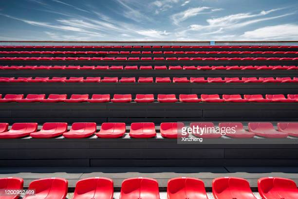 stadium seating - stadium stock pictures, royalty-free photos & images