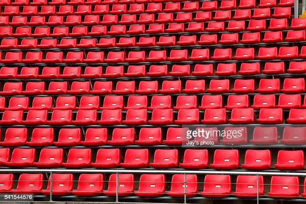 stadium seating - track and field stadium stock pictures, royalty-free photos & images