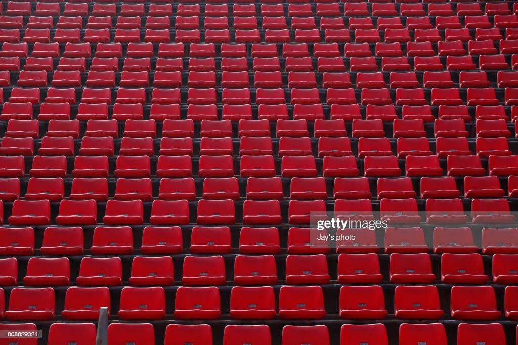 Stadium seating : Stock Photo