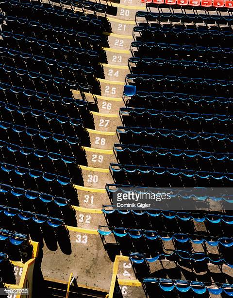 stadium seating - basketball stadium stock photos and pictures