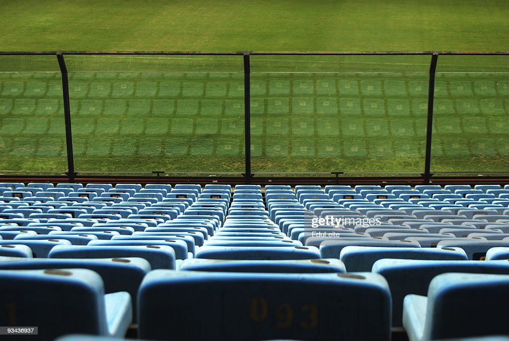 Stadium seats : Stock Photo