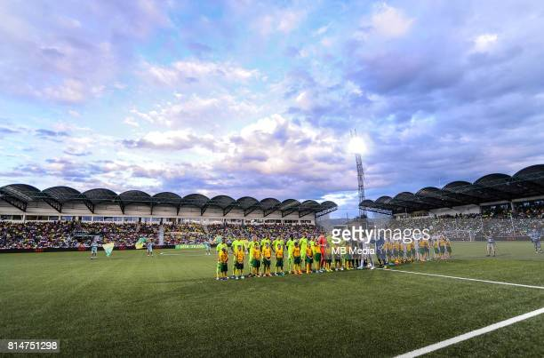 Stadium View during the UEFA European Champions League Second qualifying round, Match 1 match between MSK Zilina - FC Copenhagen at Stadion pod...