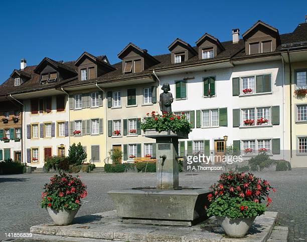 Stadt House Platz, Interlaken, Bern Canton, Switzerland